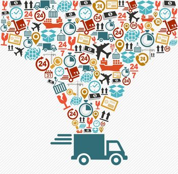 Logistik Urheber  Cienpies Design