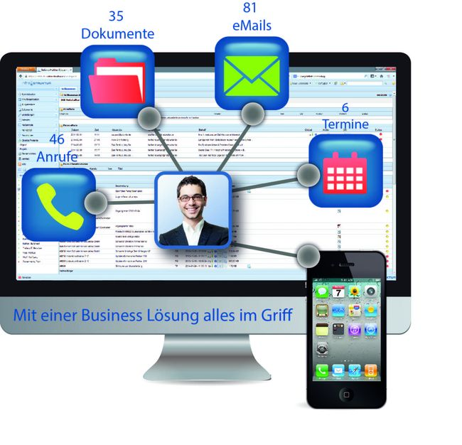 """""""infra-struktur"""" – Die mobile 360° Kundenakte für die Hosentasche"""
