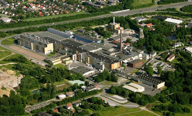 Mitsubishi HiTec Paper Europe GmbH, Standort Bielefeld (Foto: Mitsubishi)