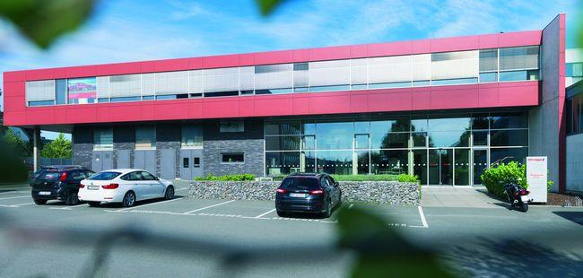 Moderner Anbau: 2008 wurde der Gebäudetrakt in Bielefeld fertiggestellt.