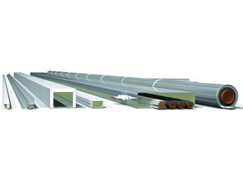 Zertifizierter I-Kanal:  Der vierseitige I-Kanal ist für die Feuerwiderstandsklassen EI 30 bis EI 120 zugelassen. Foto: G+I