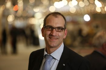 """Christian Enßle: """"Hauptziel der FMB ist es, Besuchern aus dem Maschinenbau eine optimale Arbeitsplattform zu bieten."""""""