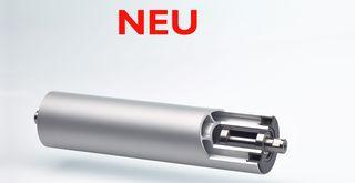 Die Economic-Roll® Walzen LE aus stranggepressten Aluminium-Präzisionsprofilen ist in den Durchmessern  60, 80, 100, 120, 160 und 200 mm erhältlich.  (Foto: Dreckshage)