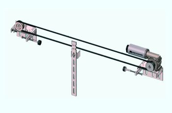 Intelligentes Türsteuergerät für die DTSG-Automatiktür: Bediener werden durch automatische Türen entlastet, hohe Türgeschwindigkeiten verkürzen die Taktzeiten.