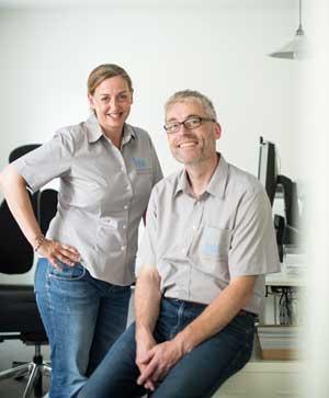 Nicole Karger und Detlef Stolze