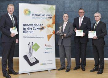 Auftakt des Innovationspreises Münsterland 2015